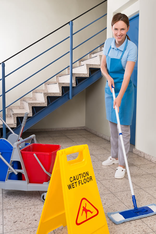 Communal area cleaning in London