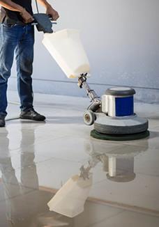 Floor polishing in London