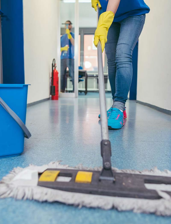 Communal area cleaning London